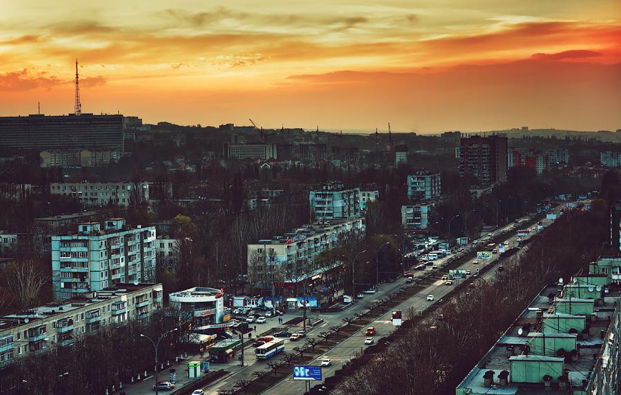 Chisinau Sunset Botanika